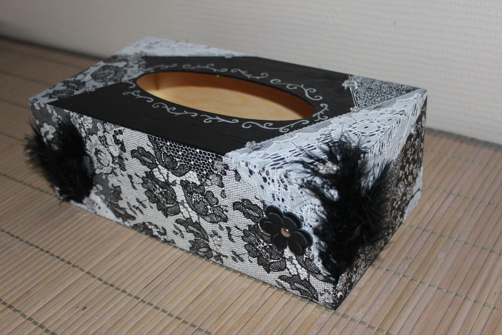 Boîte à mouchoirs &quot&#x3B;baroque&quot&#x3B;