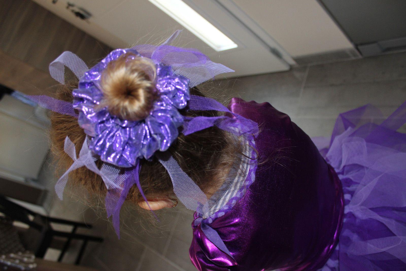 parme et violet pour Noély