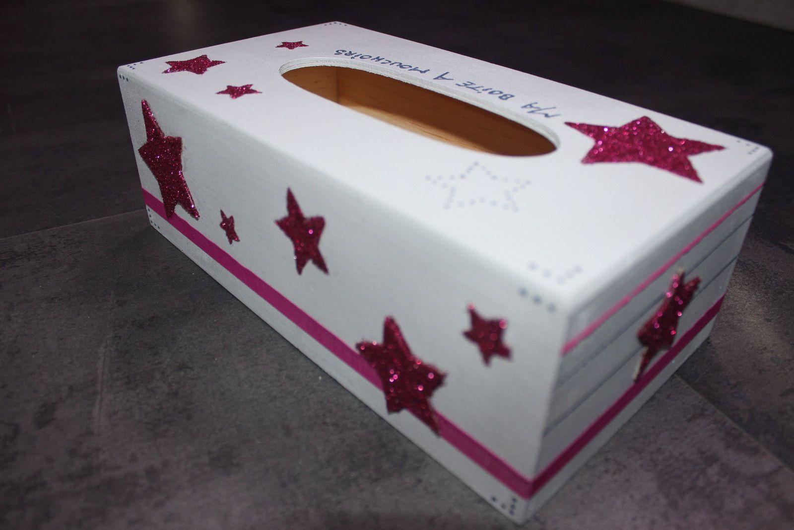 Boîte à mouchoirs étoiles