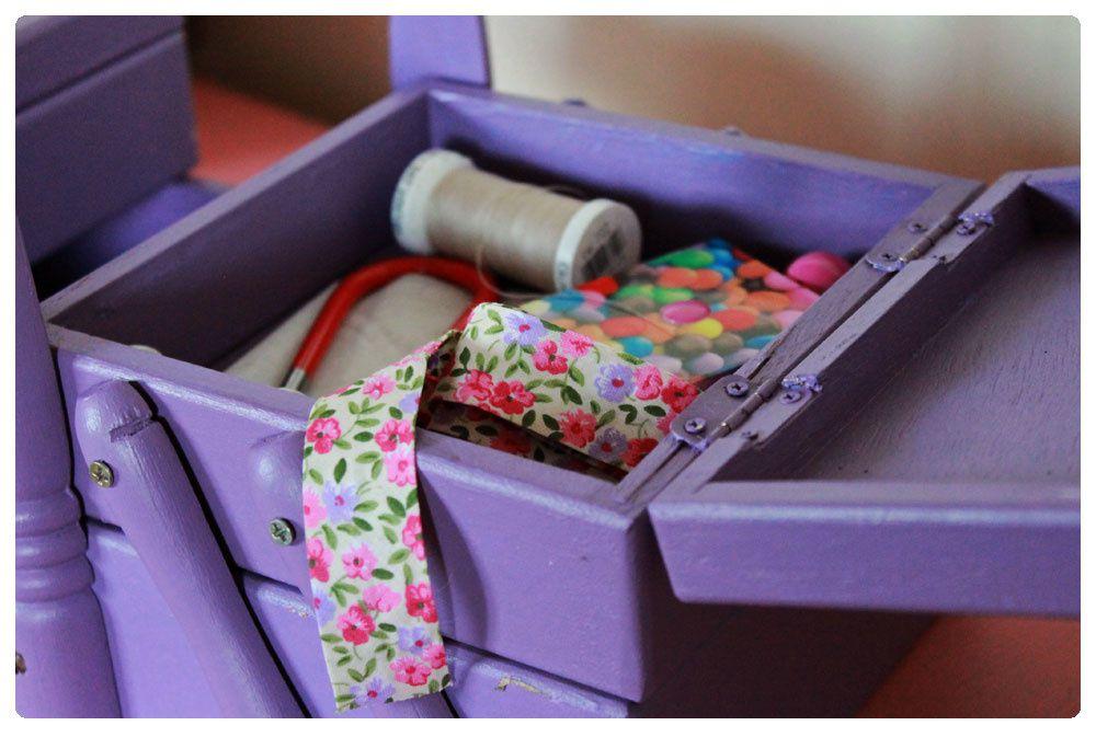 Petits travaux : boite à couture