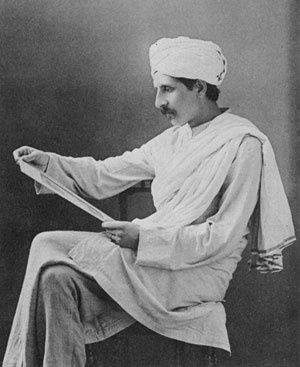 Ananda Kentish Coomaraswamy en 1909.