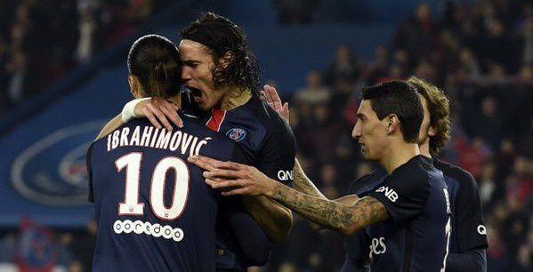 Le PSG écrase St Etienne !