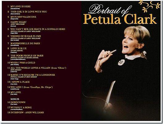 7 avril 1969 : Portrait of Petula Clark