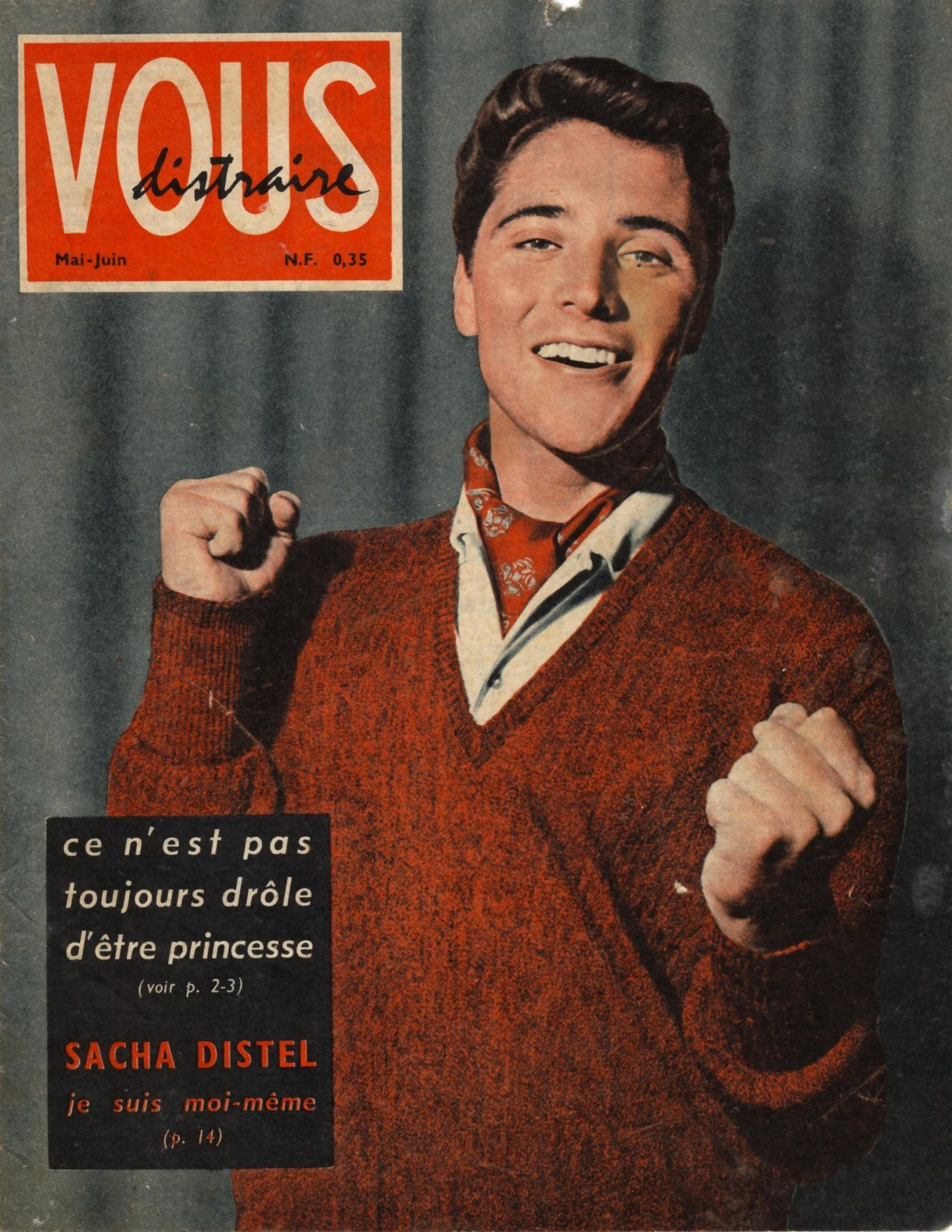 Une : Vous distraire - Mai et juin 1960