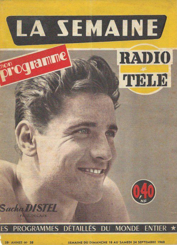 UNE : La semaine mon programme n° 38 du 18 au 24 septembre 1960