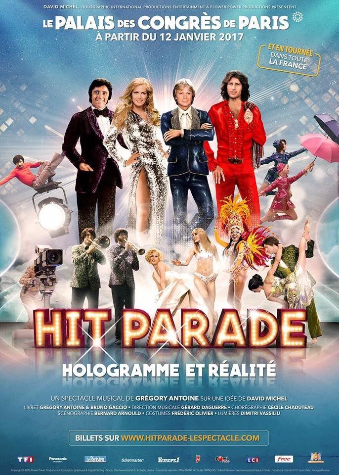 Hit Parade - Nouveau visuel du spectacle