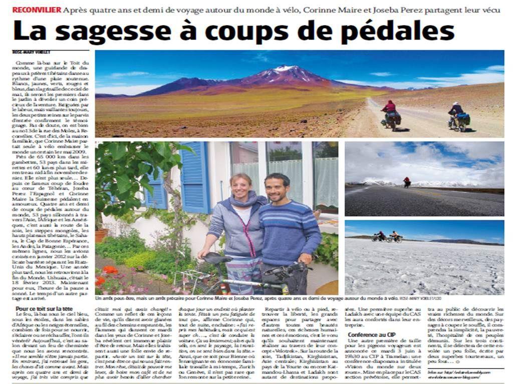 Publié dans le Journale du Jura