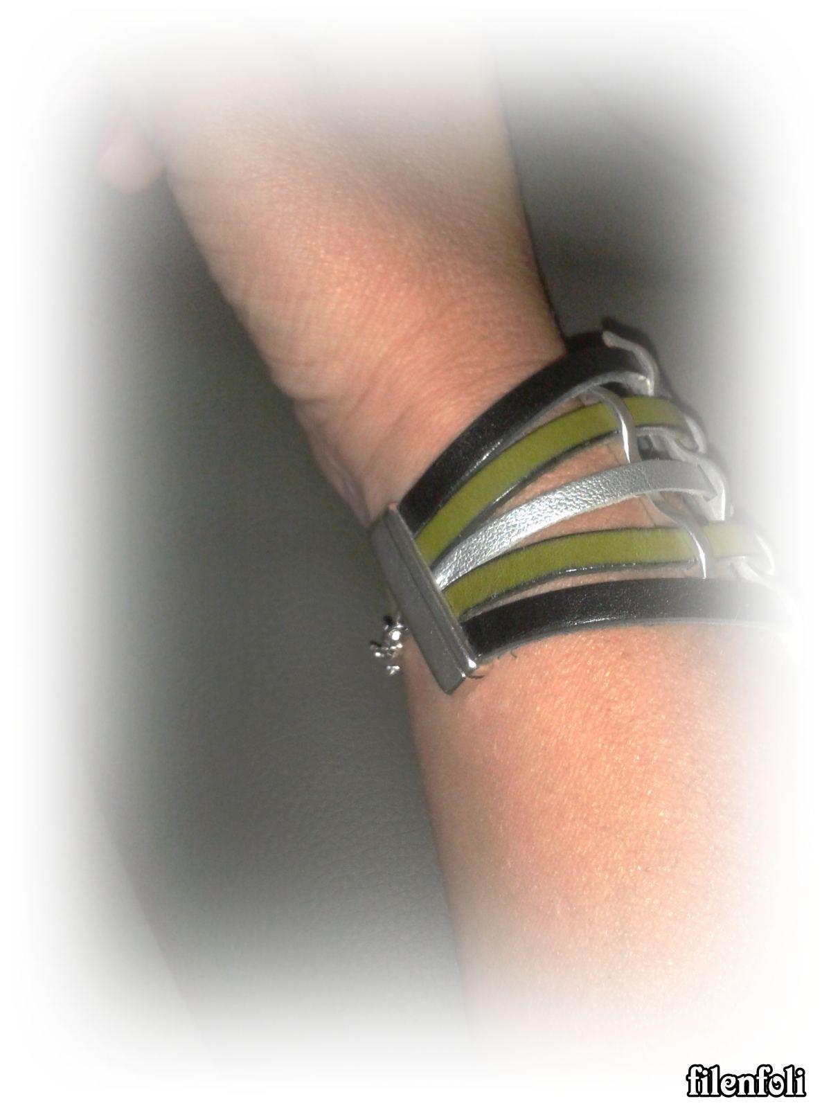 bracelet 5 lanières
