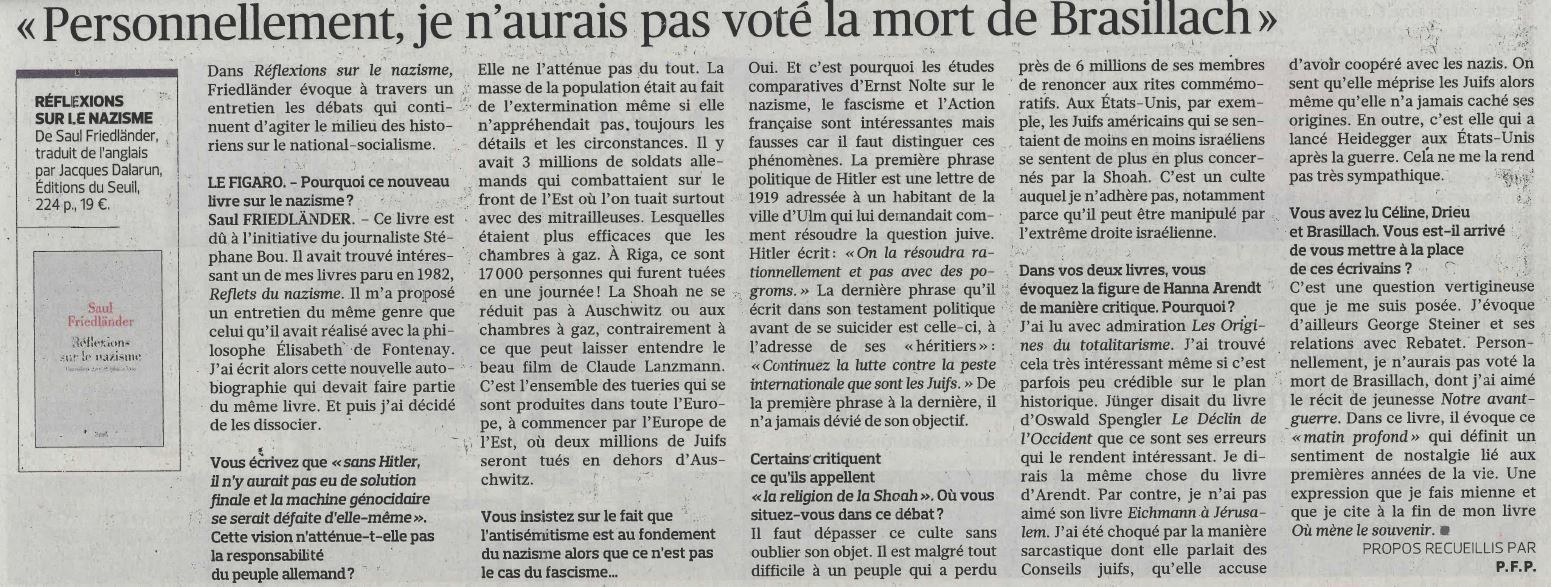 """(""""Le Figaro littéraire"""", 22 septembre 2016, p.8 &#x3B; cliquer sur l'illustration pour l'agrandir)"""