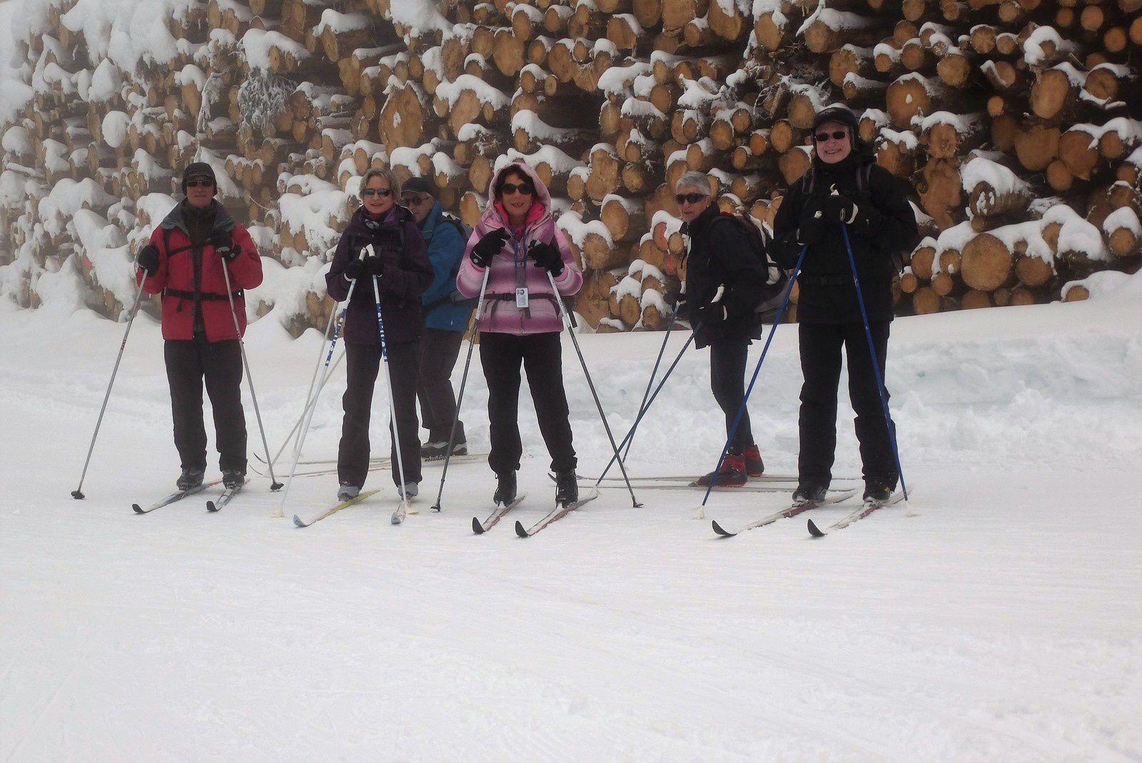 La qualité de la neige est variable pour skier