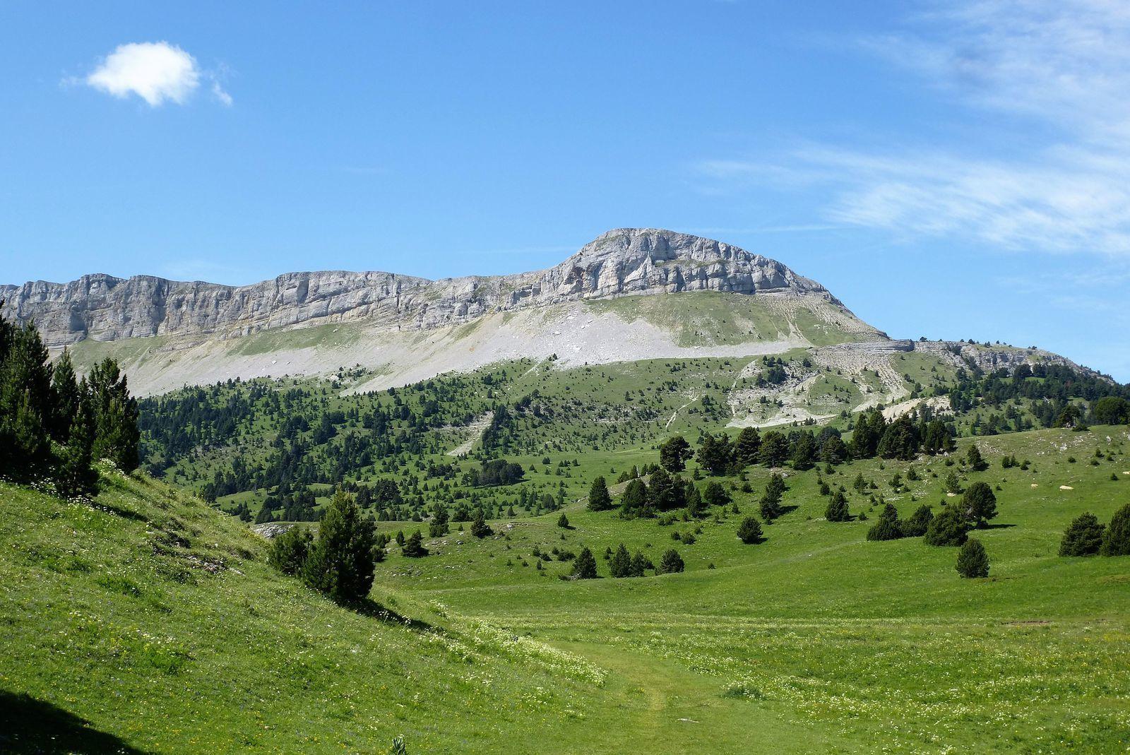 la Montagnette 1791 m