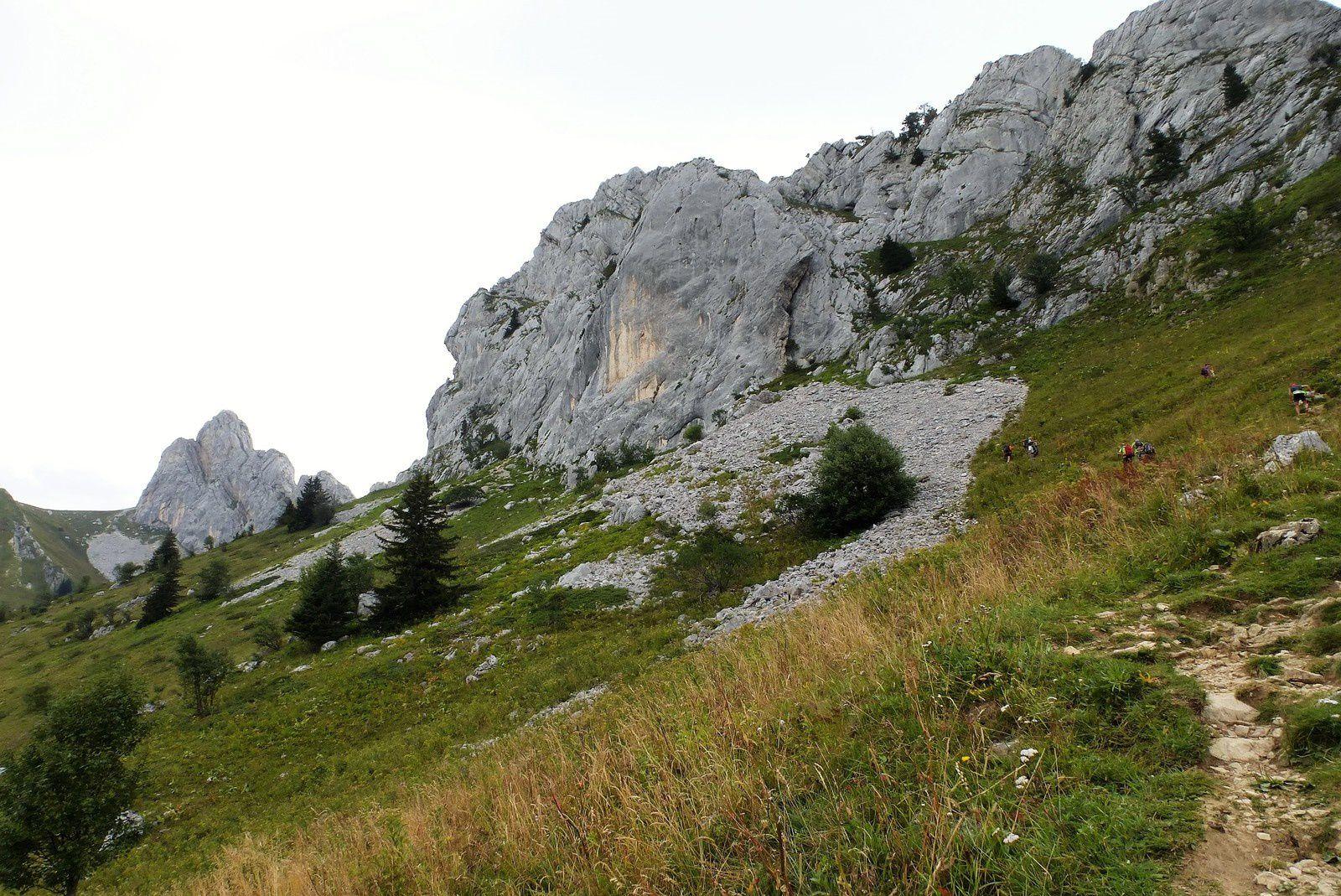 Pause au Col Vert