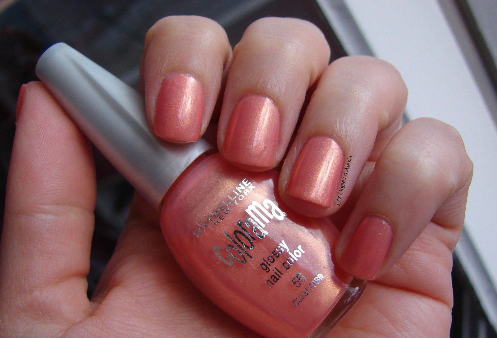 Maybelline Colorama n°56 - Coral Rose (ombre)
