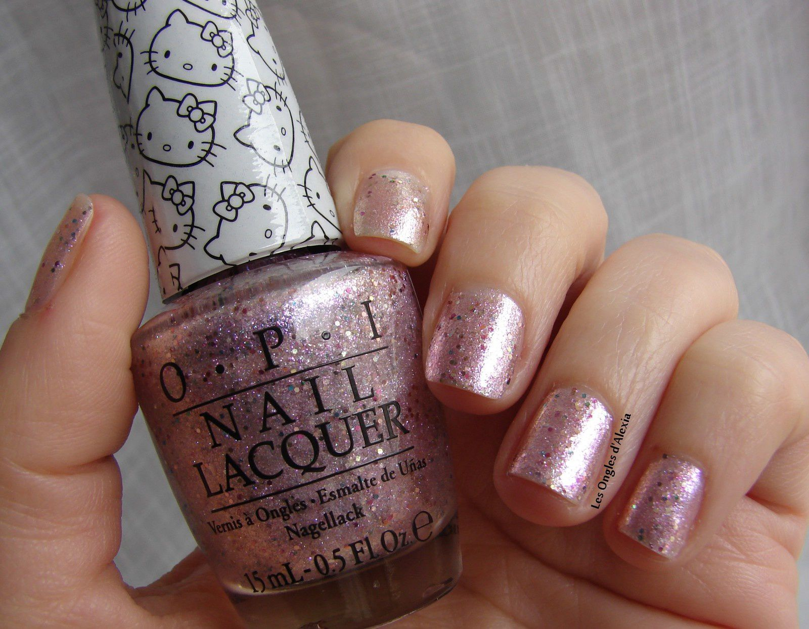 OPI - Charmmy & Sugar (collection Hello Kitty)