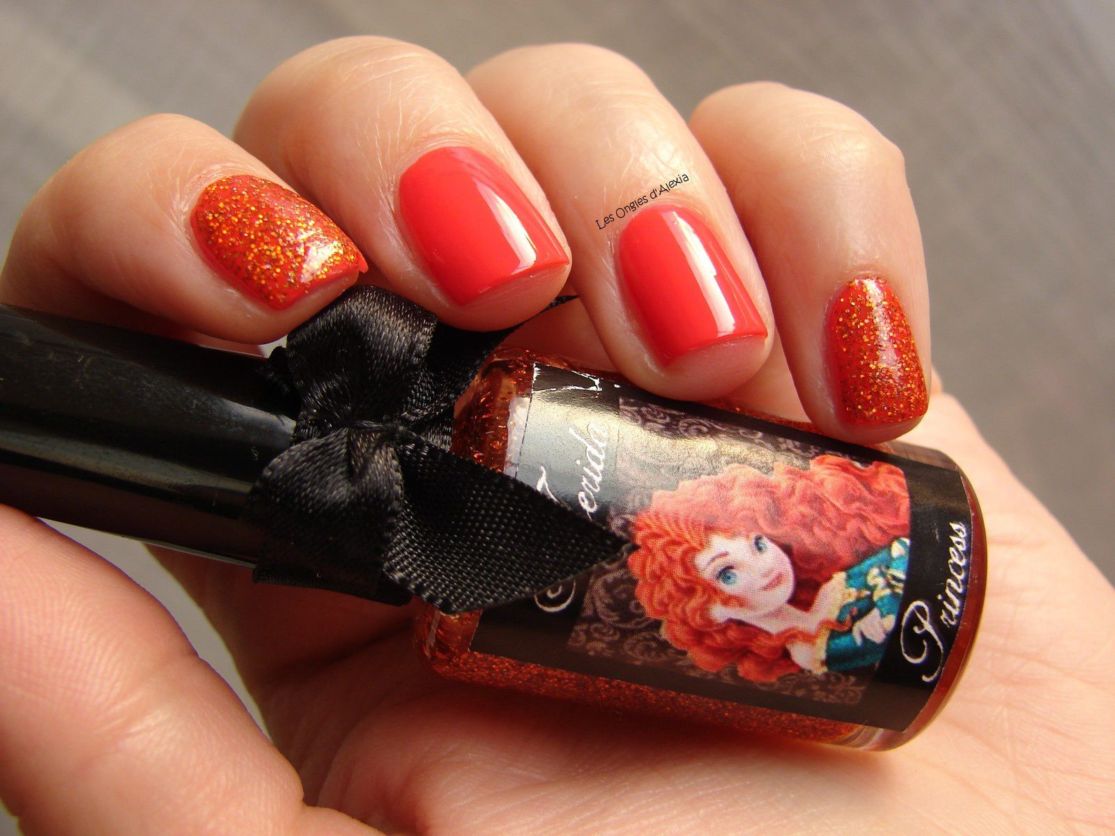Esmaltes Da Kelly - Merida (Princess &amp&#x3B; Villains Collection)