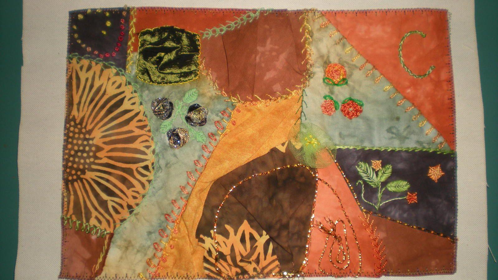 challenge textile: lettre C