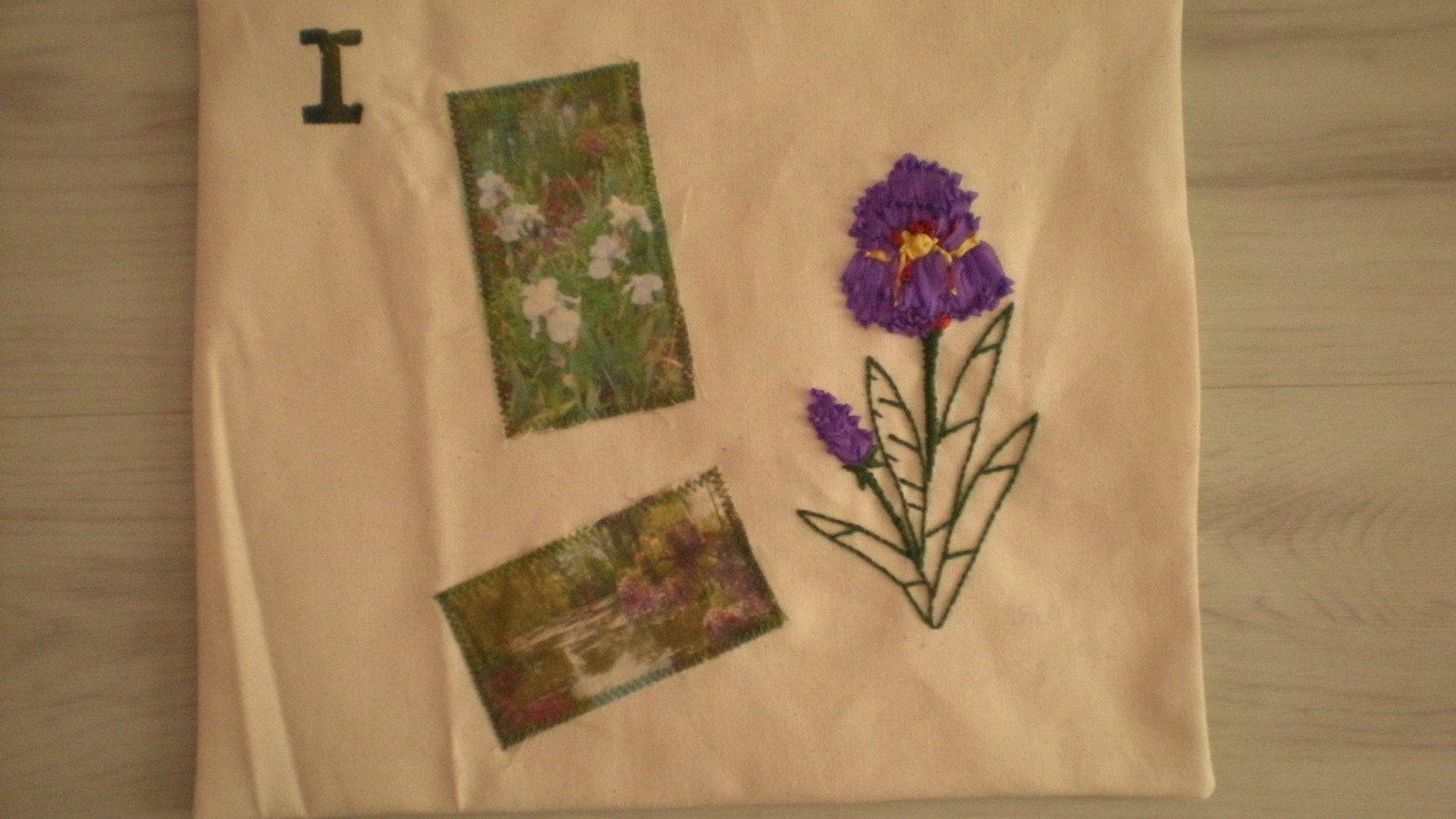 challenge textile, lettres I et J