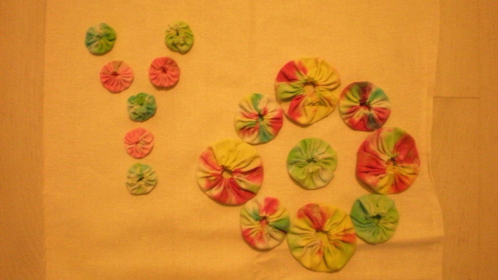 challenge textile: lettre Y et Z