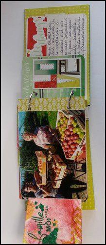 Mini-album à la cueillette des pommes - #2