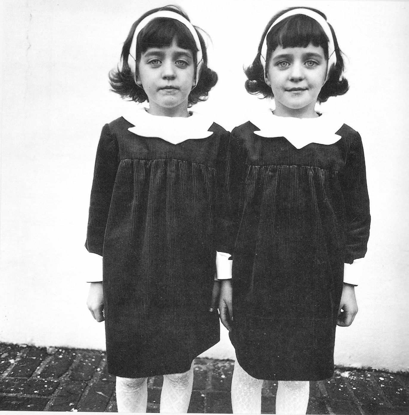 Identical twins 1967 by Diane Arbus