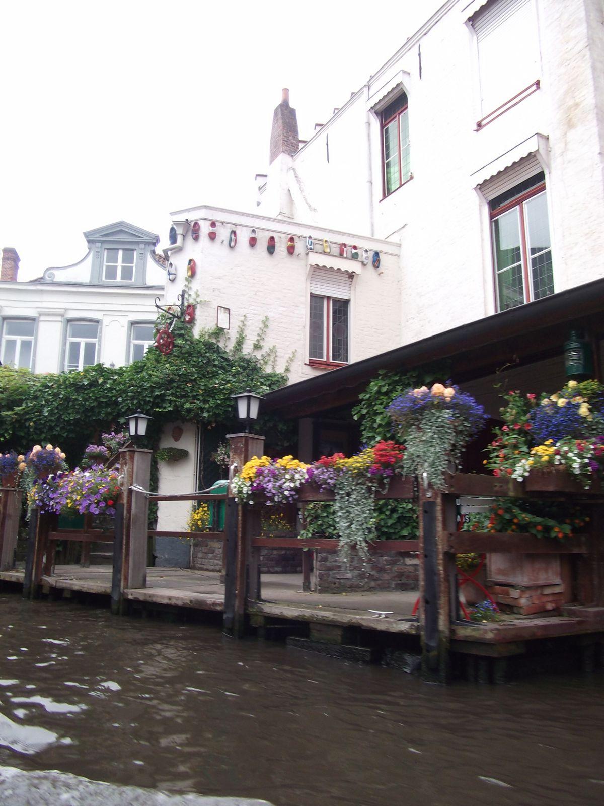 En passant par Bruges ( petite venise Belge)