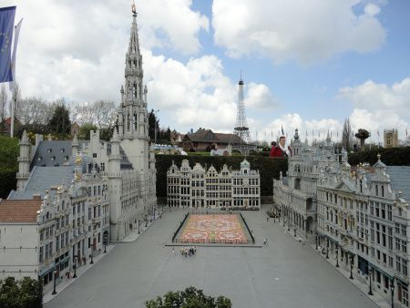La Grand-Place de Bruxelles au parc Mini-Europe.