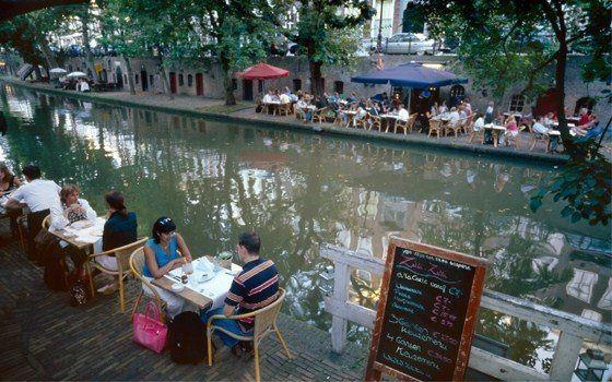 Les restaurants et bars au bord des canaux