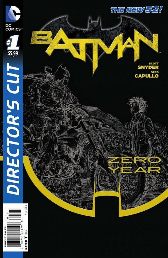 BATMAN ZERO YEAR: THE DIRECTOR'S CUT #1 / DC Comics