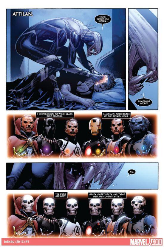 Infinity #1 / Marvel