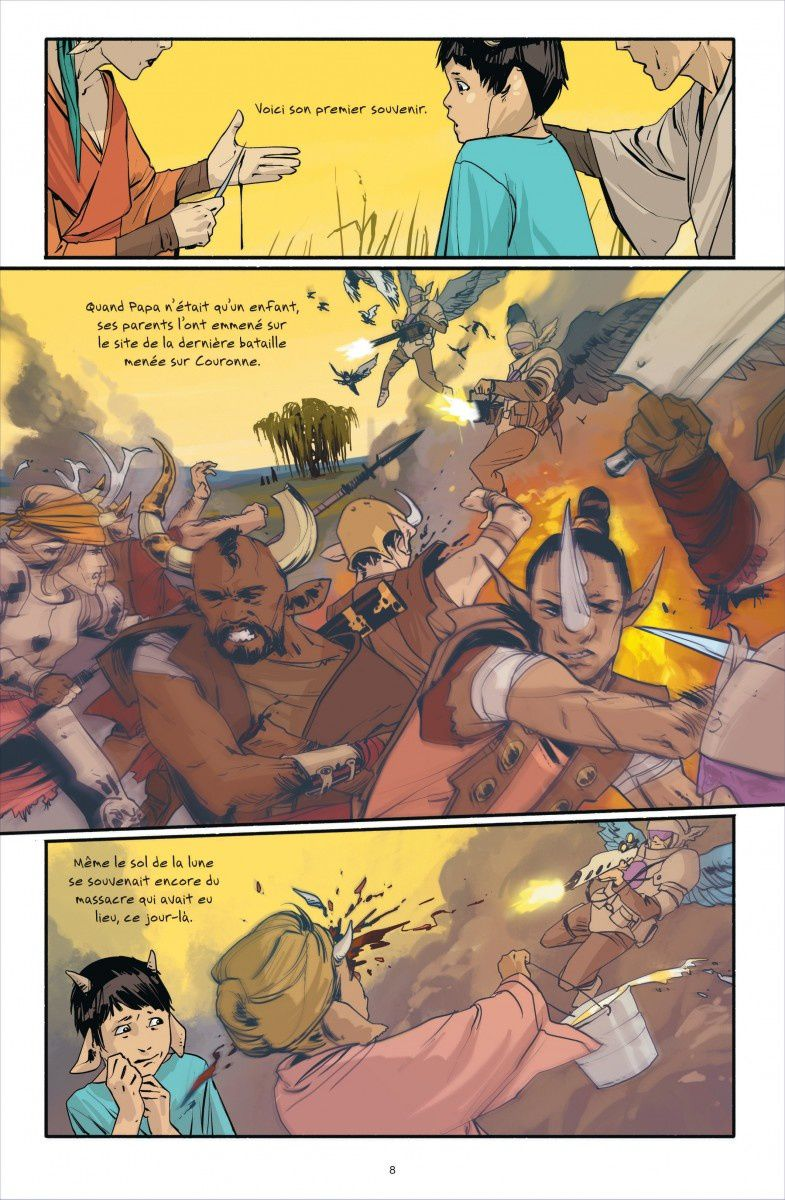 [Preview Comics VO] Saga T2