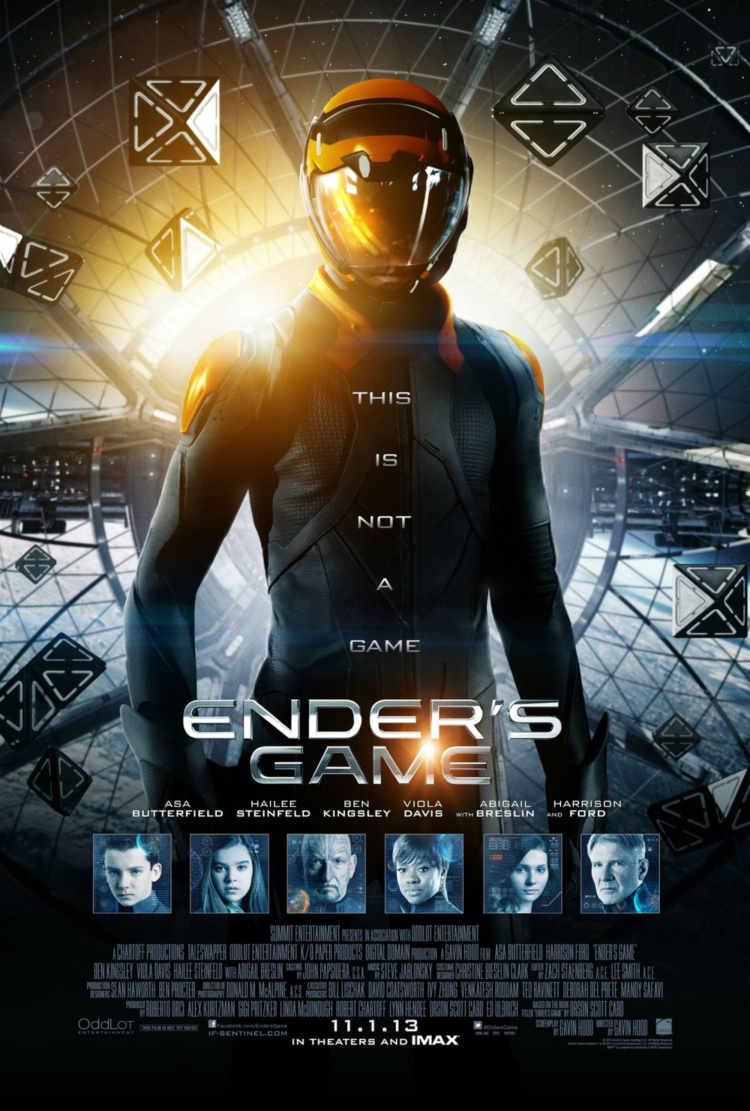 Poster final pour Ender's Game