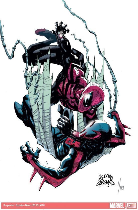 Superior Spider-Man #1 Cover / Marvel