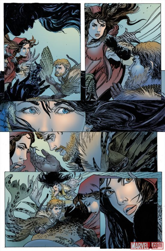 Once Upon a Time : Shadow of the Queen / Marvel