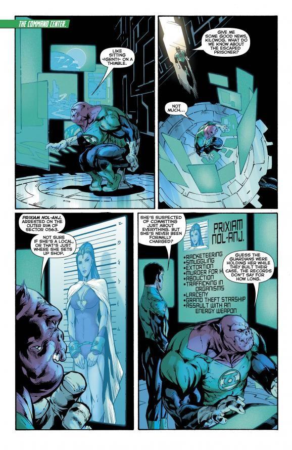 Green Lantern #23 / DC Comics