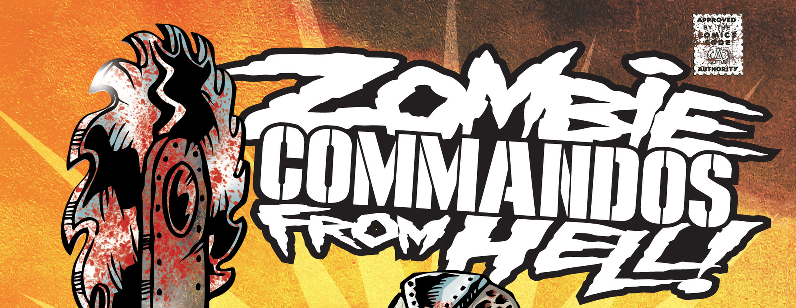 Zombie Commandos From Hell Vol.6, un comics post-apocalyptiqe québécois !