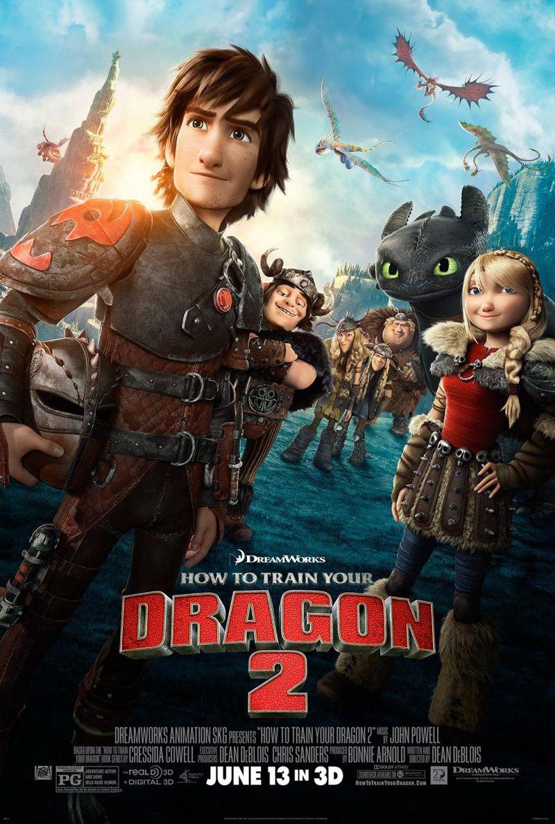 Un nouveau trailer et un poster pour &quot&#x3B;Dragons 2&quot&#x3B;