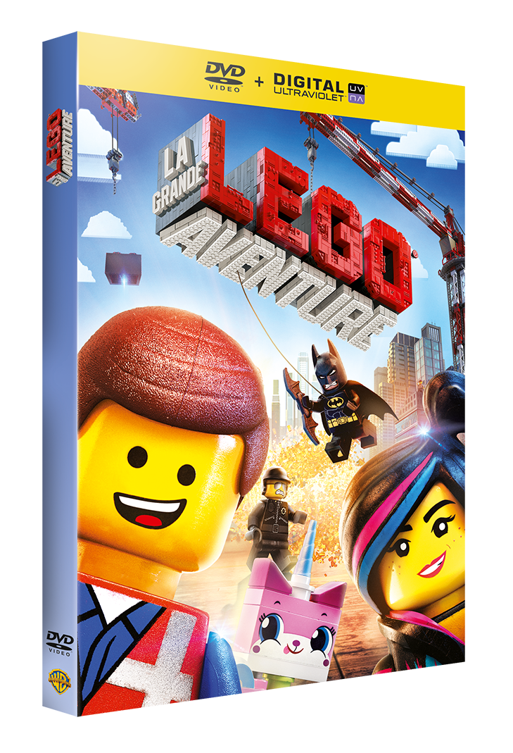 LA GRANDE AVENTURE LEGO® DISPONIBLE EN VIDEO LE 25 JUIN !