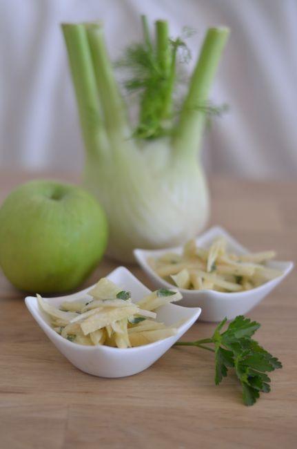 Salade de fenouil &amp&#x3B; pomme Granny