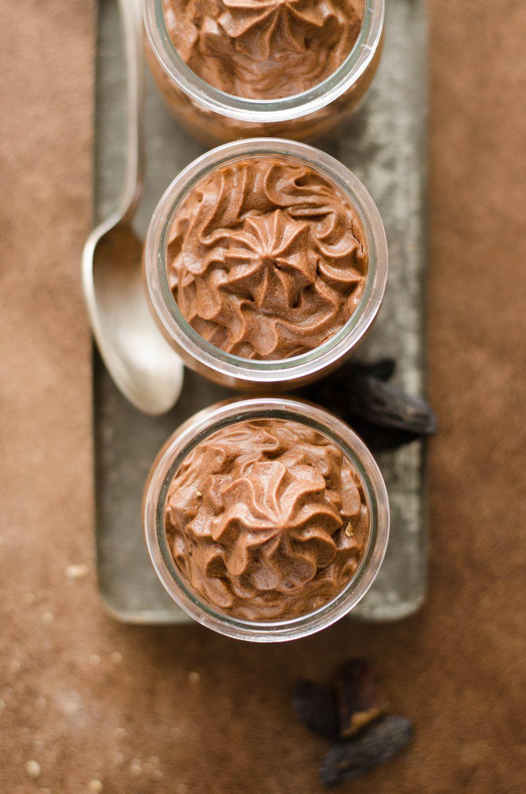 Mousse au chocolat &amp&#x3B; à la fève tonka