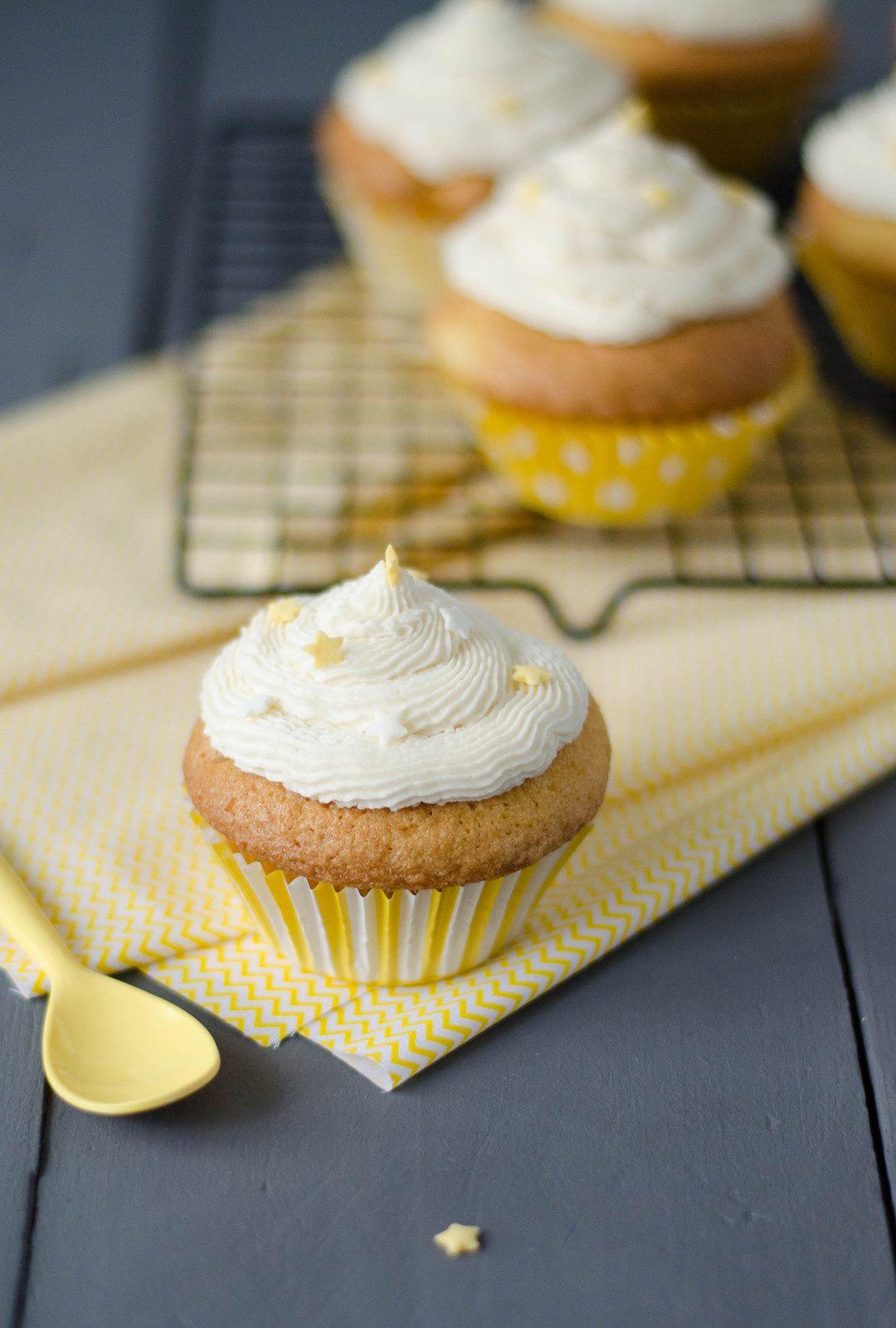 Cupcakes à la pomme &amp&#x3B; glaçage au beurre d'érable