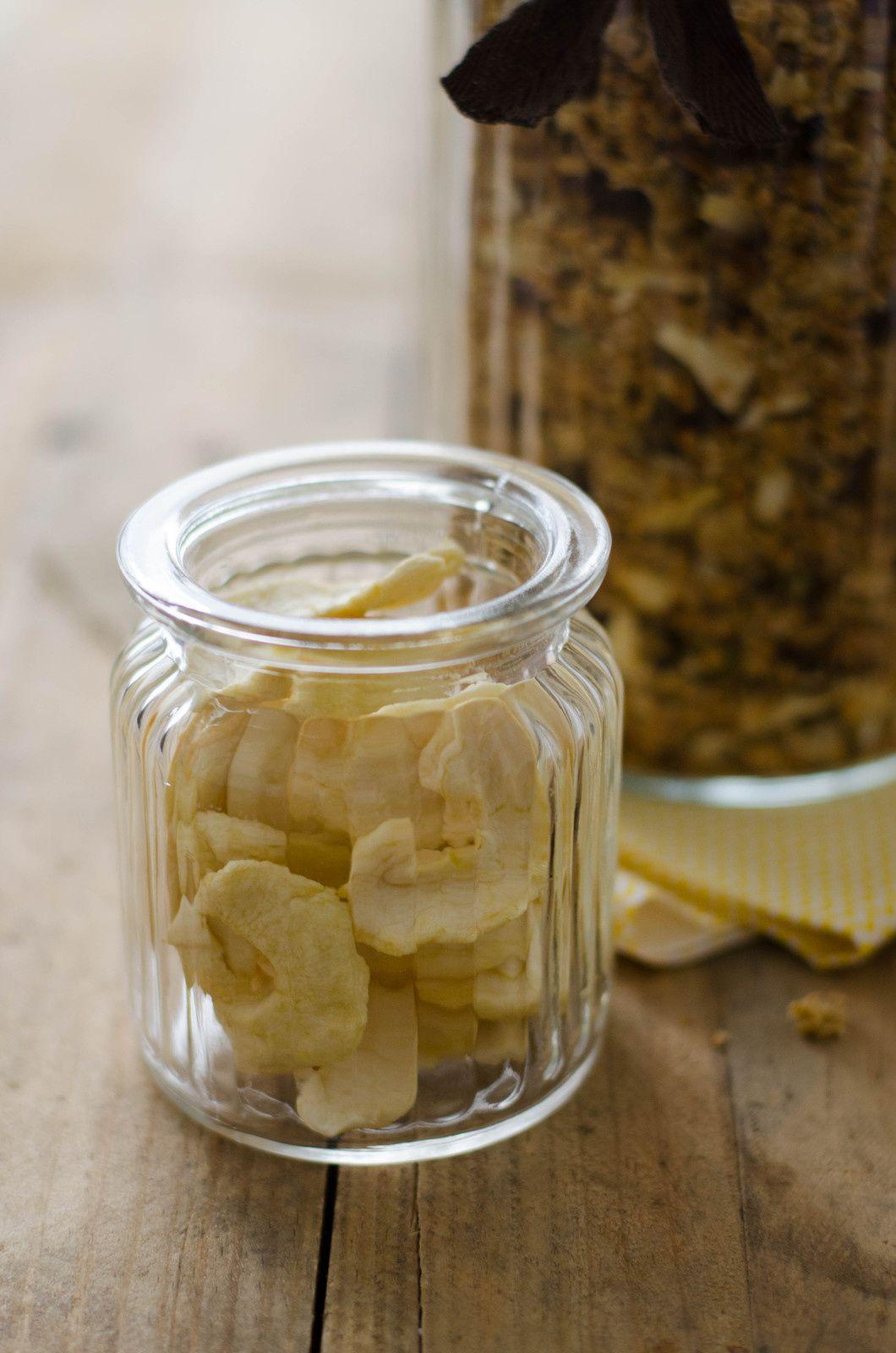 Granola amande-pomme-raisin