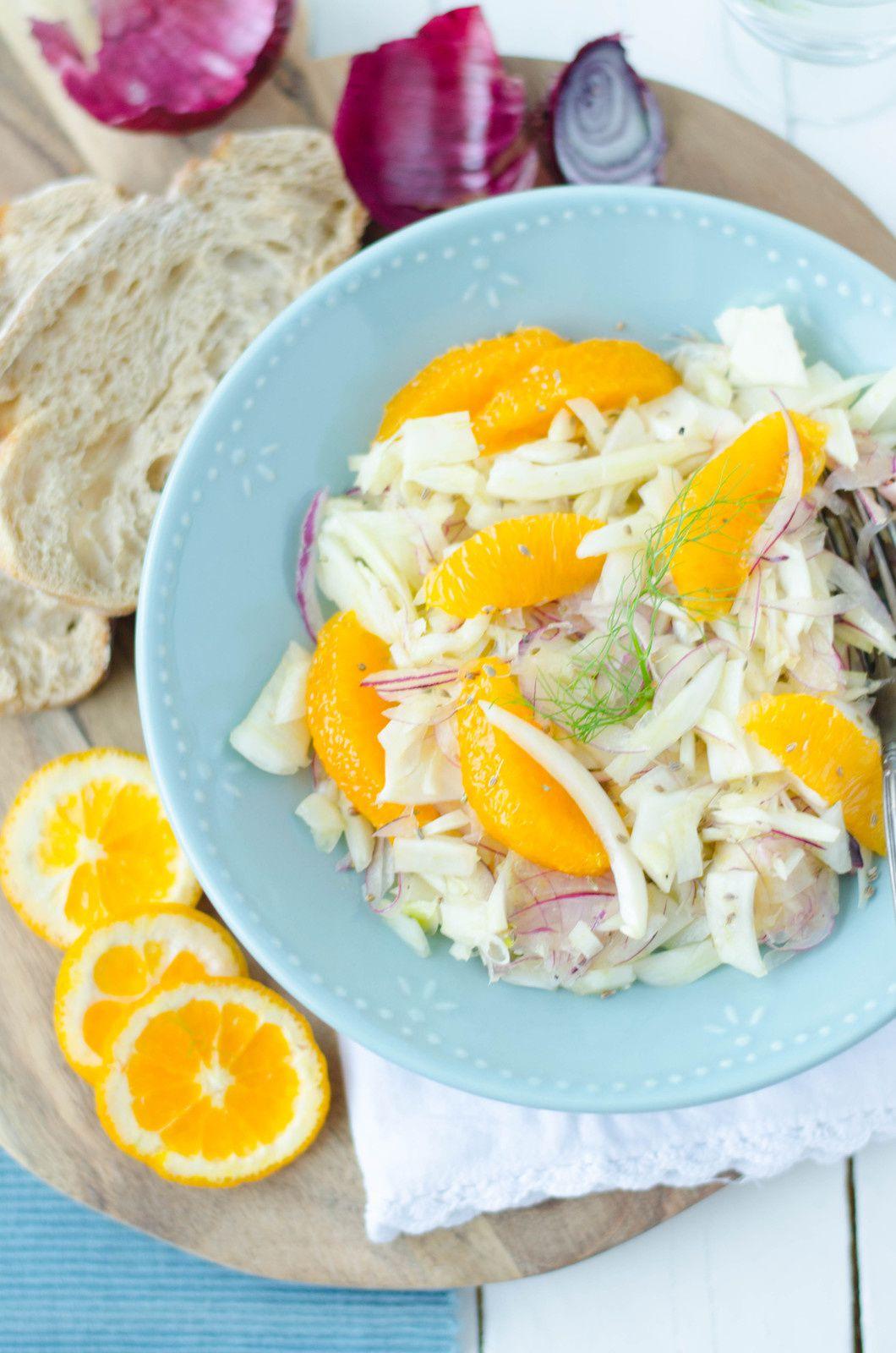 Salade de fenouil à l'orange &amp&#x3B; à l'anis vert