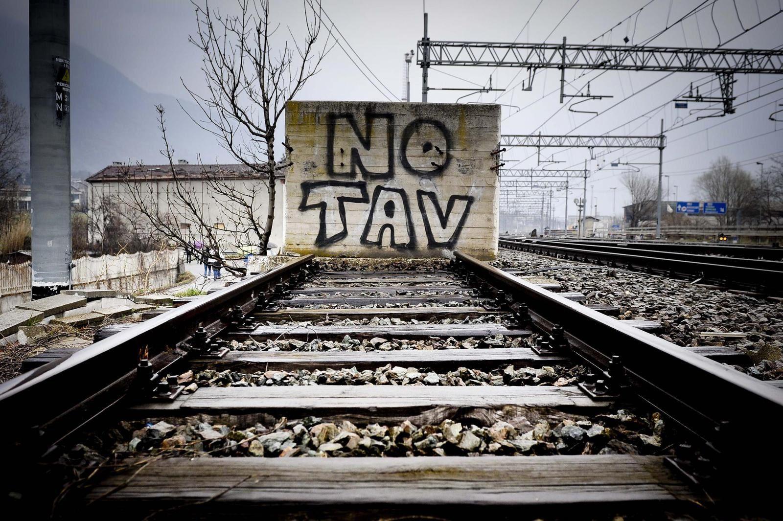 Le TGV Lyon-Turin? NO TAV!