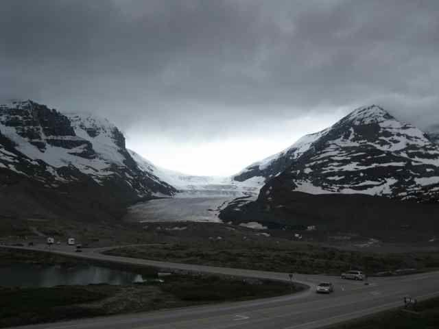 Au champ de glace Columbia
