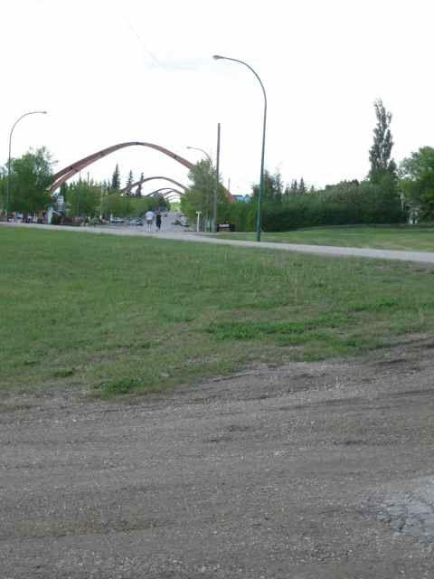 Les arcs de Russell, Manitoba