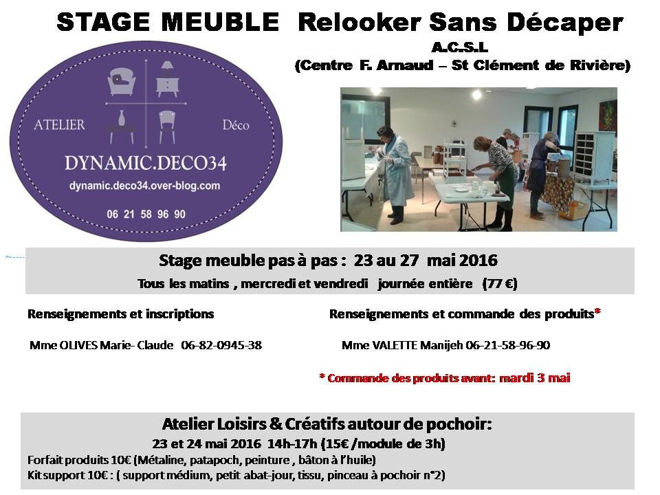 Ateliers &amp&#x3B; Stages
