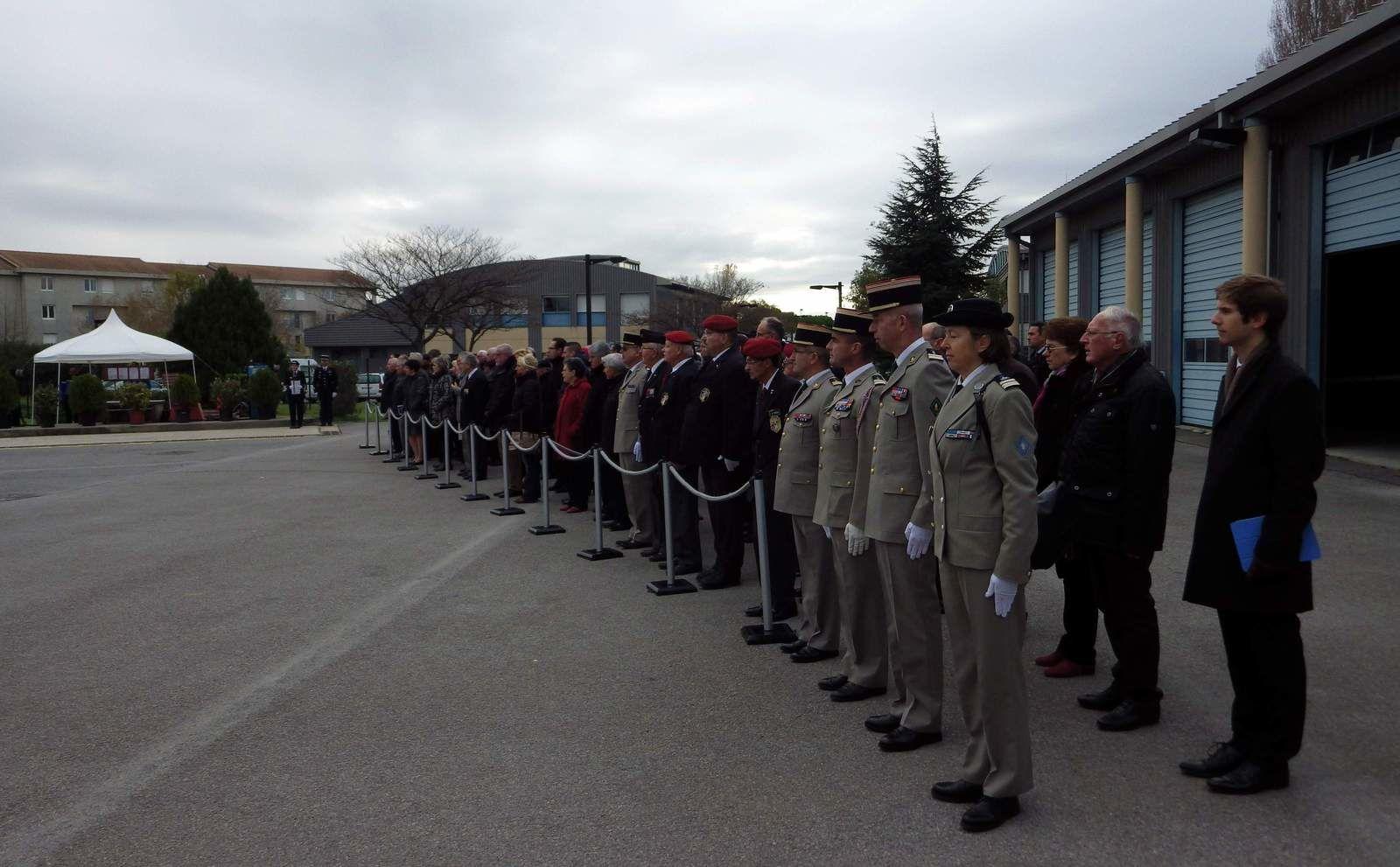 Le 3 décembre 2014, les Gendarmes fêtent  Sainte Geneviève !