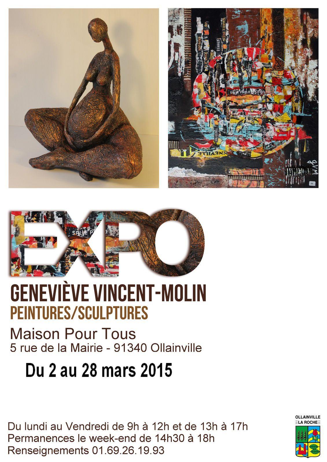 Geneviève expose à Ollainville