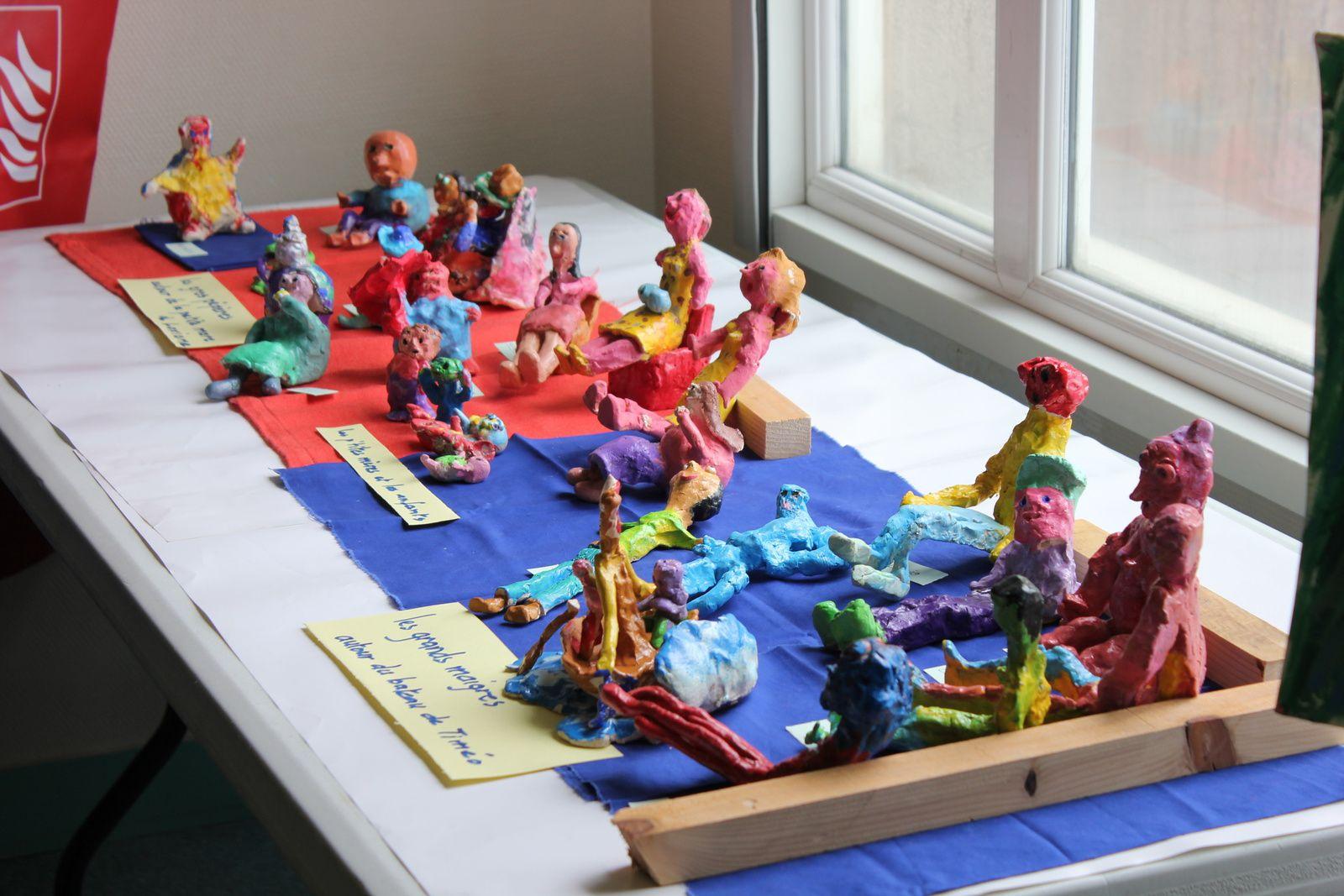 Exposition annuelle de l'atelier des mirettes (suite)