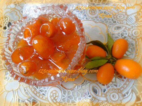 Confiture de Kumquats &quot&#x3B;Tchwina&quot&#x3B;